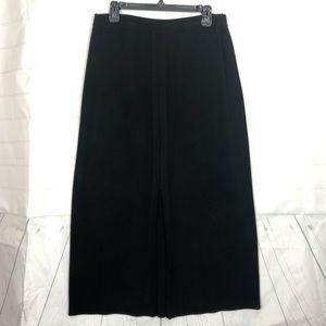Misook Black Maxi Skirt sz XL Exclusively